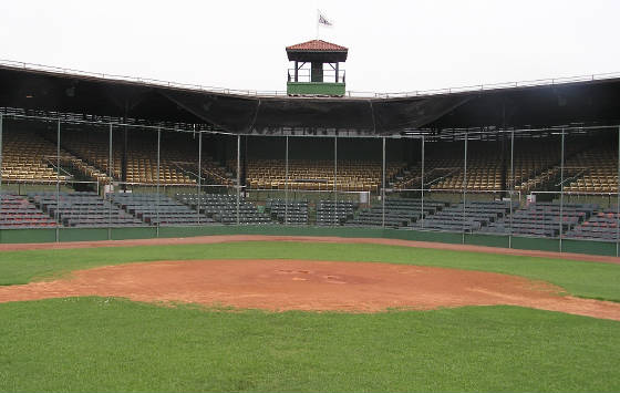 A view of HP from the pitchers mound - Rickwood